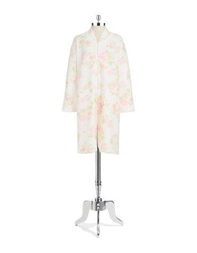 MISS ELAINEFloral Zip Nightgown