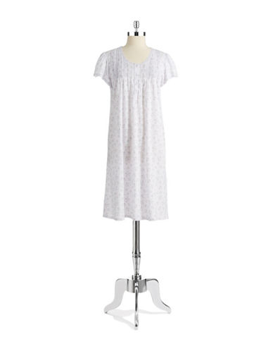 MISS ELAINEFloral Night Dress