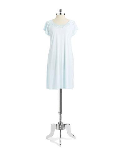 MISS ELAINECap Sleeved Sleep Dress