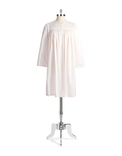 MISS ELAINEButton Placket Nightgown
