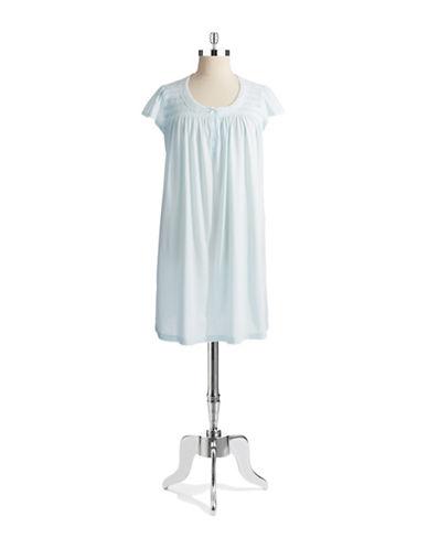 MISS ELAINECap Sleeved Sleep Shirt