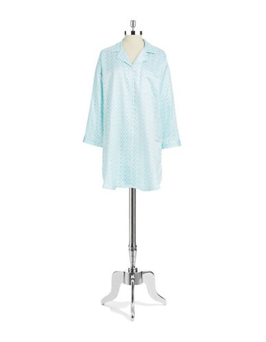 MISS ELAINEGeo Patterned Nightgown