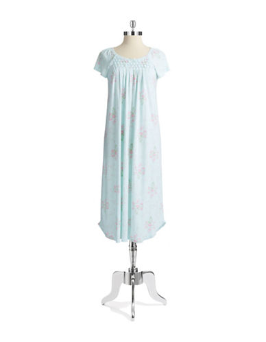 MISS ELAINEFloral Nightgown