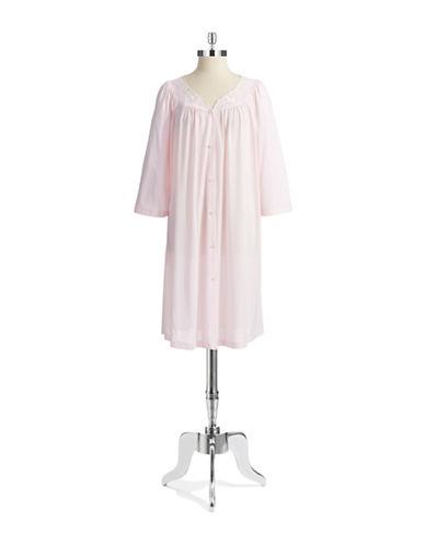 MISS ELAINEButton Down Nightgown