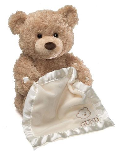 Gund, peek-a-boo bear