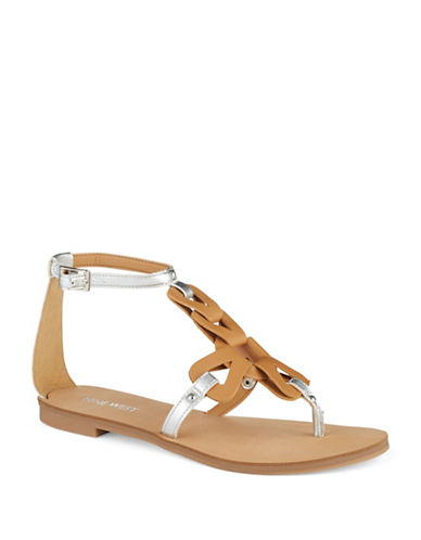 NINE WEST Saddie Sandals