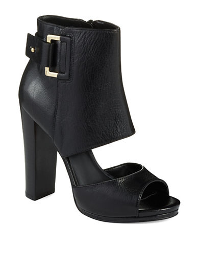 Shop Nine West online and buy Nine West Violet Hour Peep Toe Booties shoes online