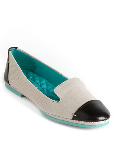 BOUTIQUE 9Didi Leather Smoking Flats