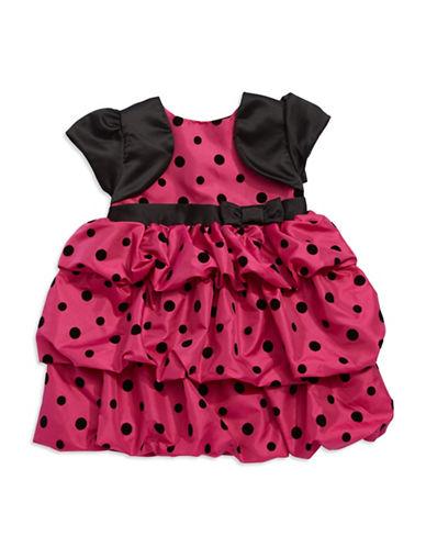 PENELOPE MACKBaby Girls Dotted Balloon Hem Dress
