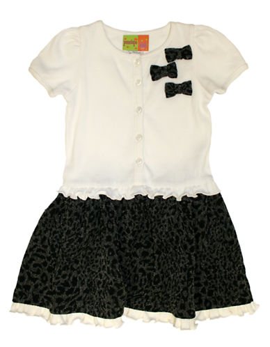 PENELOPE MACKGirls 2-6x Bow Party Dress