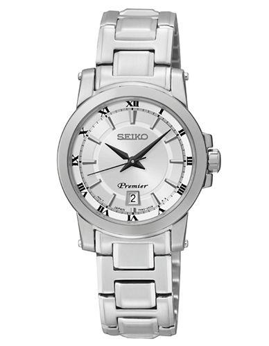 SEIKOLadies Premier Stainless Steel Watch