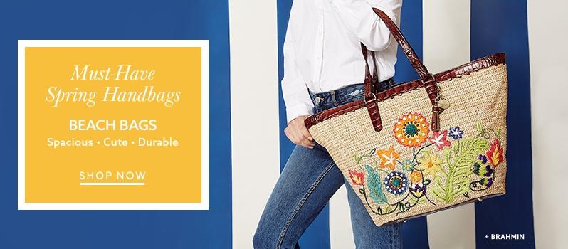 Marc Jacobs classic mixed-media tote bag and more carryall handbags at  lordandtaylor.com