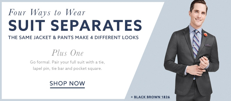 Black Brown 1826 formal suits and separates at lordandtaylor.com.