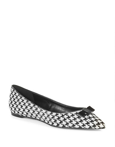 ENZO ANGIOLINI Collay Houndstooth Flats