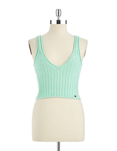 GUESS Sleeveless V-Neck Tank Top