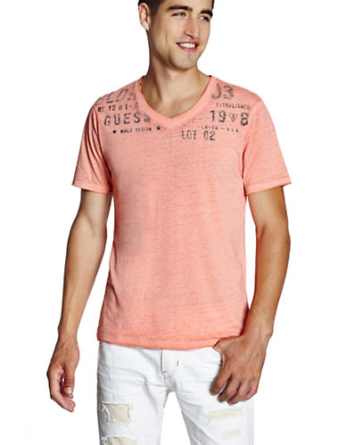 GUESSMyer Expedition V-Neck T-Shirt