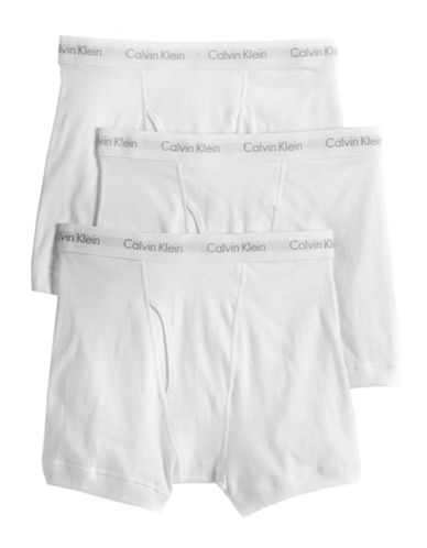 CALVIN KLEINCotton 3 Pack Boxer Briefs
