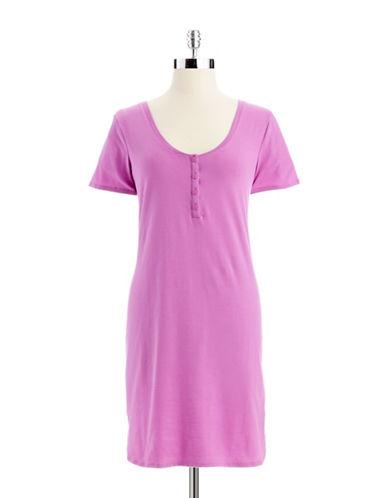 CALVIN KLEINShort Sleeve Cotton Nightshirt