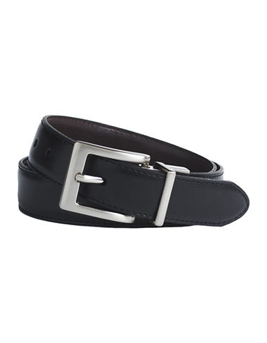 LORD & TAYLOR KIDS Reversible Leather Belt
