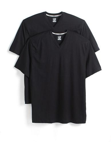 JOCKEY2 Pack Big and Tall Cotton V-Neck T-Shirts