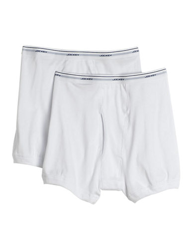 JOCKEY2 Pack Big and Tall Cotton Boxer Briefs