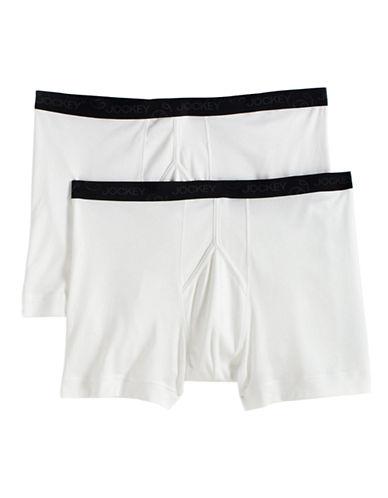 JOCKEY2-Pack Cotton Boxer Briefs
