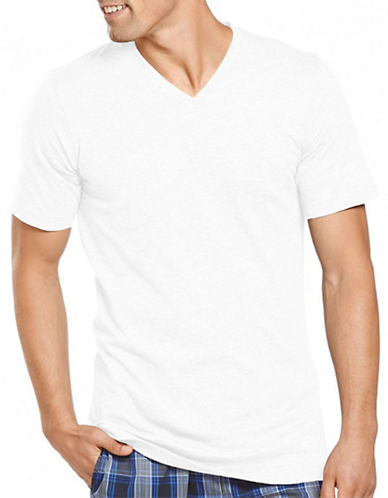 JOCKEY Slim Fit Knit V-Neck T-Shirt