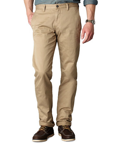 DOCKERS Straight-Leg Alpha Khaki Pants