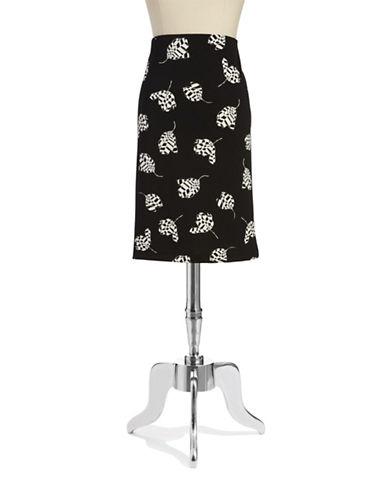 VINCE CAMUTOTulip Patterned Pencil Skirt