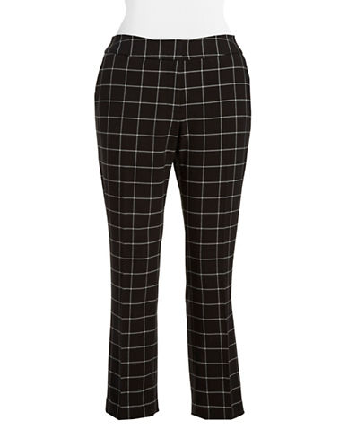 VINCE CAMUTO PLUS Plus Straight-Leg Pants