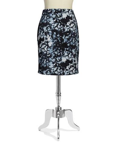 Vince Camuto Plus Plus Zipper Skirt