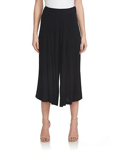Pleated Culotte Pants plus size,  plus size fashion plus size appare