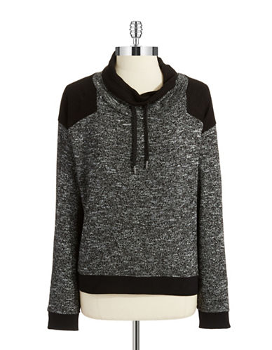 TWO BY VINCE CAMUTO Cowlneck Drawstring Pullover