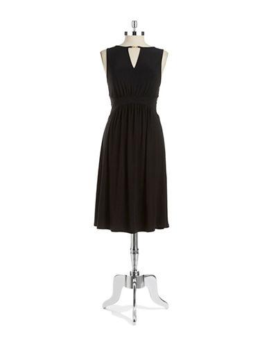 CYNTHIA STEFFEKeyhole Midi Dress
