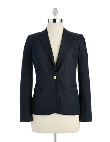 VINCE CAMUTOPetite One-Button Blazer