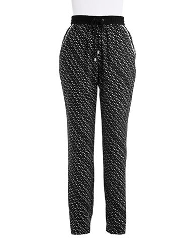 VINCE CAMUTOPatterned Crepe Pants