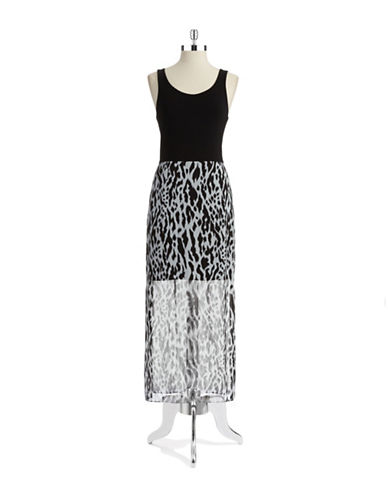 VINCE CAMUTOAnimal Print Maxi Dress