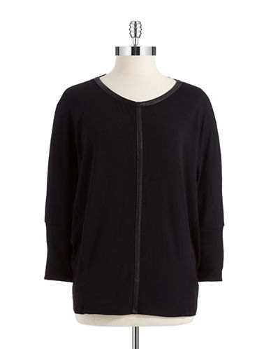 Two By Vince Camuto Dolman Sleeved Top