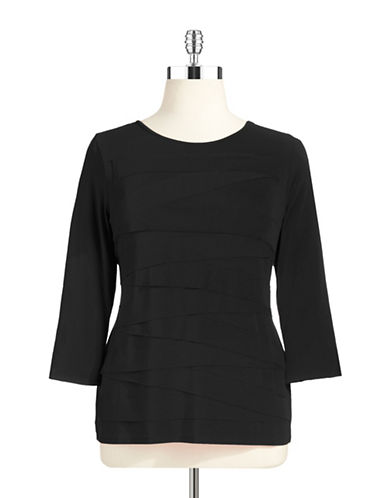 VINCE CAMUTO PLUS Plus Tiered Top