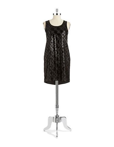 VINCE CAMUTOSequin Shift Dress