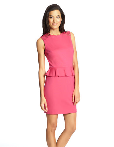 Cynthia Steffe Sleeveless Peplum Dress
