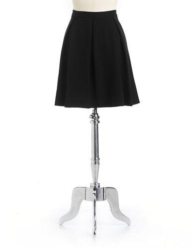 VINCE CAMUTOPonte Pleated Skater Skirt