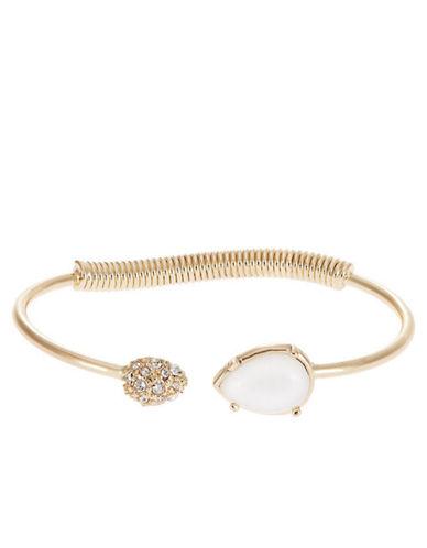 ROBERT ROSEPave Accented Cuff Bracelet