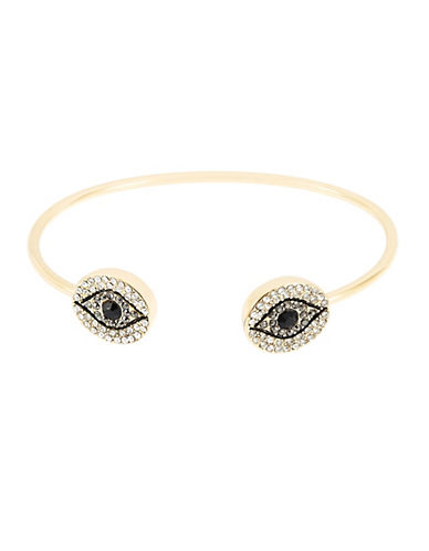 T&C THEODORA & CALLUMEvil Eye Open Bangle Bracelet