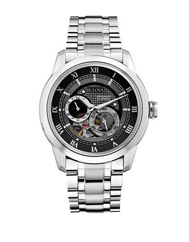 BULOVAMens Mechanical Stainless Steel Watch