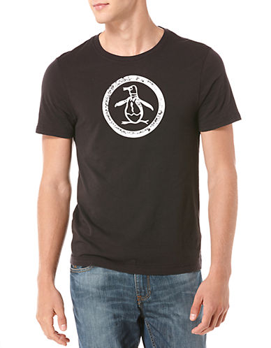 ORIGINAL PENGUINDistressed Circle Logo Graphic T-Shirt