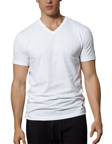 POLO RALPH LAUREN 3-Pack Slim-Fit V-Neck T-Shirt