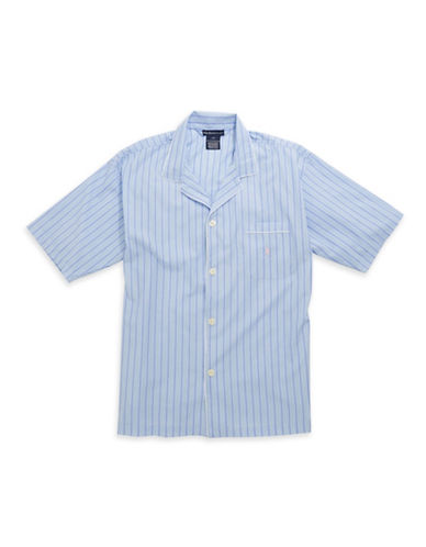 POLO RALPH LAURENOversized Button-Up Sleep Shirt