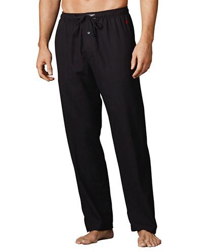 POLO RALPH LAURENSolid Flannel Pajama Pants