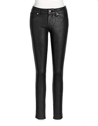 PAIGECoated Skinny Jeans